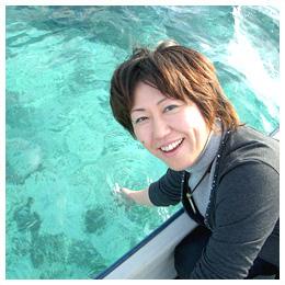 宮古島の仲間たち:エメラルドグリーンの海