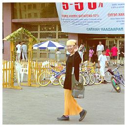 モンゴル紀行:モンゴルの首都「ウランバートル」