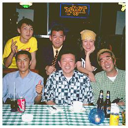 モンゴル紀行:モンゴルで知り合った仲間